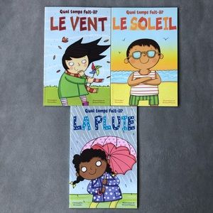 FRENCH ~ Set of 3 ~ Quel temps fait-il? Readers